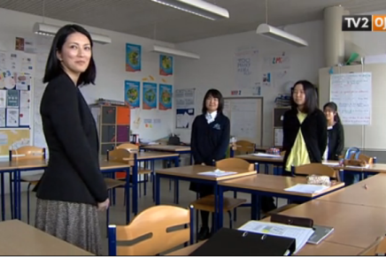 Den første japanske skole i Danmark åbnede søndag iAarhus