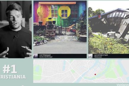 Bjarke Ingels fortæller i en ny kampagne amerikanerne, hvad de skal se iKøbenhavn