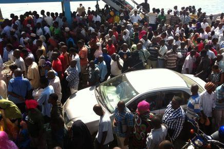 Færgen til Mombasa