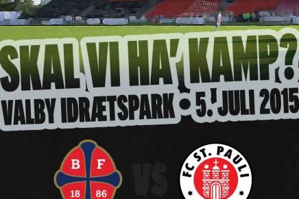 FC St. Pauli kommer til ValbyIdrætspark!