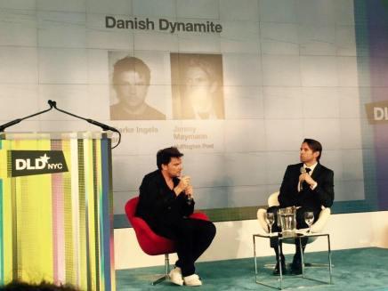 Danske superstjerner på scenen i NewYork