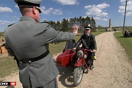 Dansk landsby lader sig besætte afNazi-Tyskland