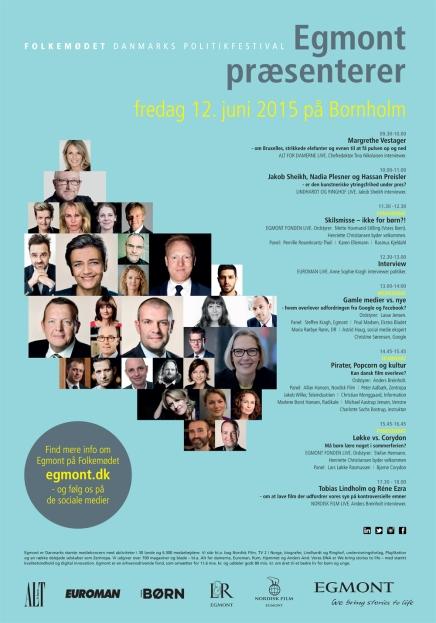 Du kan møde Nordisk Film og Egmont Media på Folkemødet hvor der bl.a. vil debatteres PopcornTime