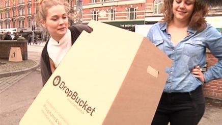 Danske piger vinder kæmpe designpris for bæredygtigskraldespand