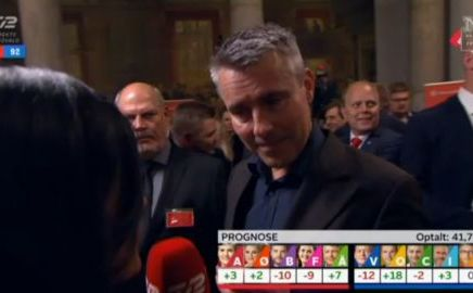 Henrik Sass Larsen fuld under Folketingsvalget 2015