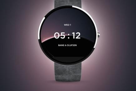 Bang & Olufsen designer Androidurskive
