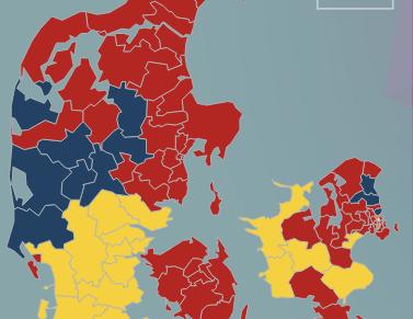 Danmark er delt ito