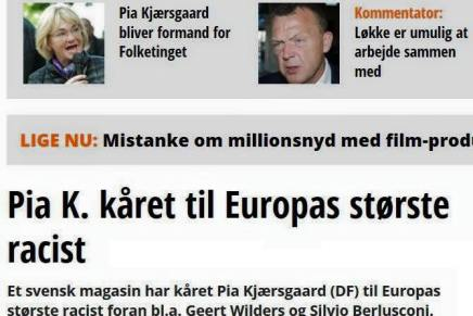 Kommentar: Pia Kjærsgaard skal være Folketingetsformand