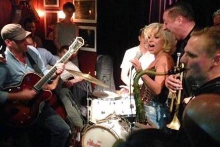 Lady Gaga jammede på La Fontaine inat