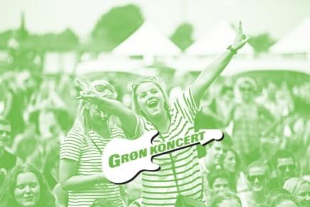 Regn skræmmer ikke GrønKoncert-gæster