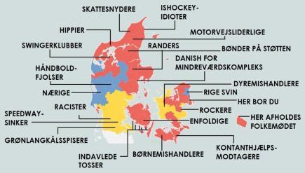 Danske journalisters fordomskort