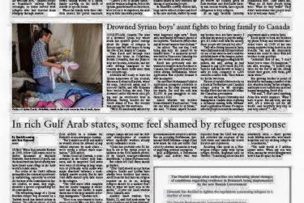 Inger Støjbergs annonce i libanesisk avis udstiller Danmark på pinligstevis