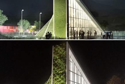 Bjarke Ingels' seneste byggeprojekt i Taiwan ligner modellen tilforveksling