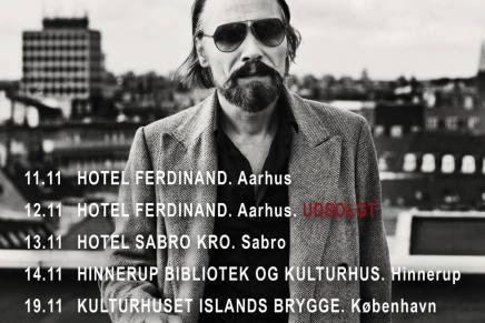 Steen Jørgensen tager påefterårsturné