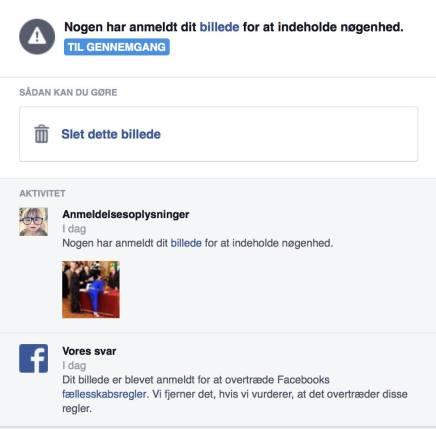 Nikolaj Steen er blevet anmeldt til Facebook-politiet