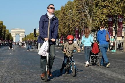 Paris er blevetbilfri!