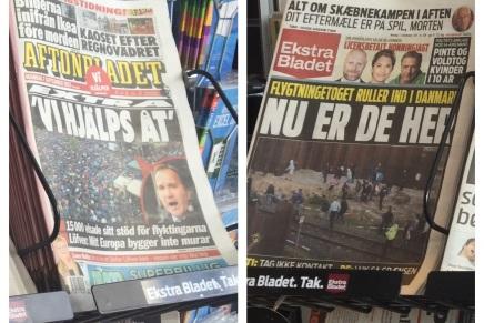 Forskellen på danske og svenskeaviser
