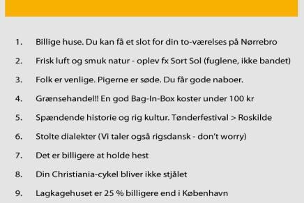 P4 byder velkommen til københavnere iJylland