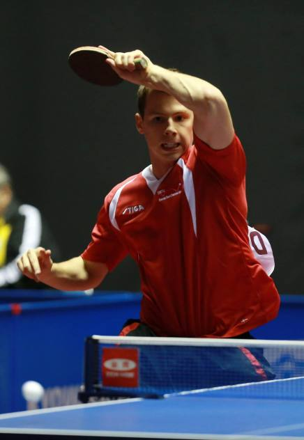 Danske Jonathan Groth uhyre tæt på 1/-8-finale til EM ibordtennis
