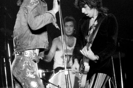 Rolling Stones koncert i Danmark i1973