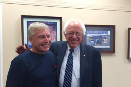 Uffe Elbæk og Bernie Sanders er blevet enige om at lancere Alternativet iUSA