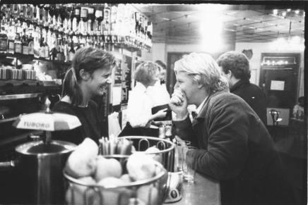 Steina og F.P. Jac på CaféSommersko