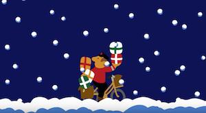 Julebrygfilmen har fået besøg af eetpostbud