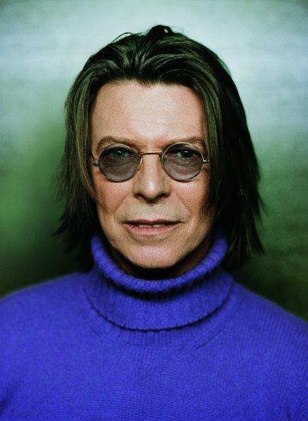 David Bowie fotograferet af den danske fotograf KlausThymann
