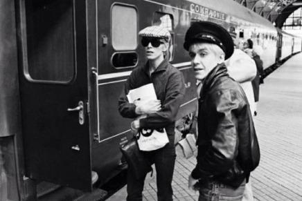 David Bowie og Iggy Pop påHovedbanegården