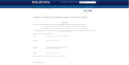 Europol lancerer center til bekæmpelse af menneskesmugling