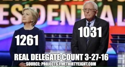 Kan Sanders indhente Clinton påkysterne?