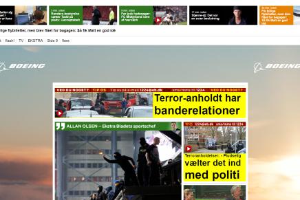 Ekstra Bladet reklamerer for krigsfly samtidig med at de tjener penge på historier omterror