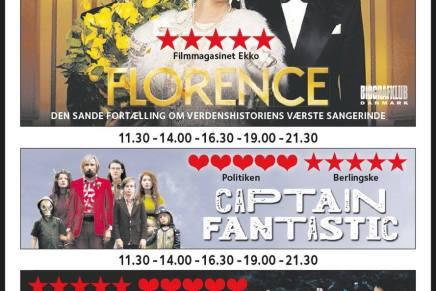 Her er trailers til alle filmene i Grand Teatret i denneuge