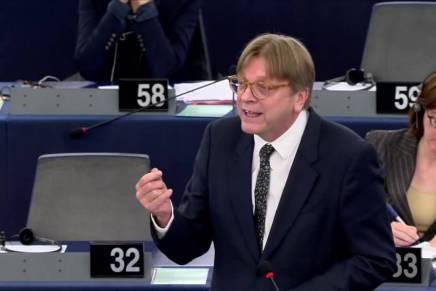 Guy Verhofstadt udpeget som Europa-Parlamentets Brexit-forhandler