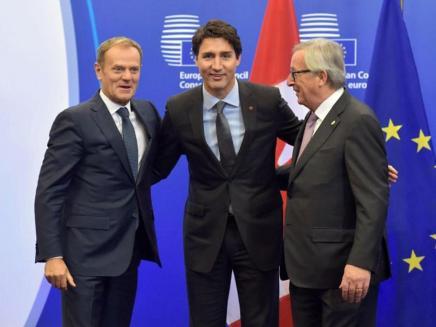 Frihandelsaftale mellem EU ogCanada