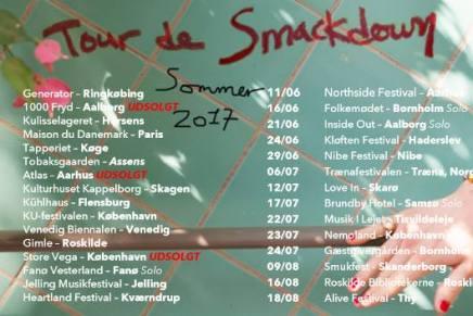 Du kan stadig nå at se Bisse på 'Tour De Smackdown' – lyt til hele sætlistenher!