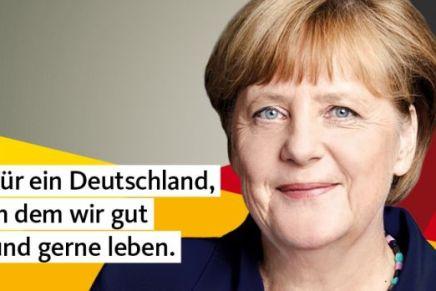 Der er valg i Tyskland – her ervalgplakaterne!