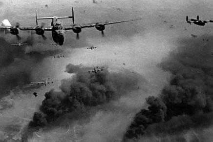 Bomberne over Prag var tiltænktDresden