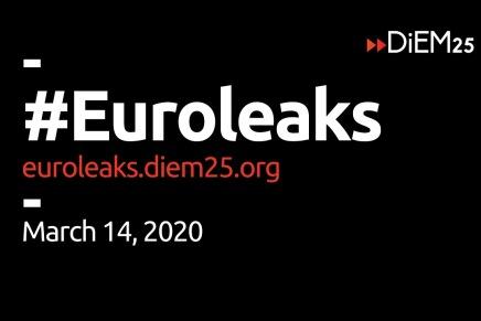 Nu kommer #Euroleaks