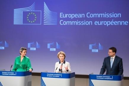 EU Kommissionen præsenterer en koordineret europæiskreaktion