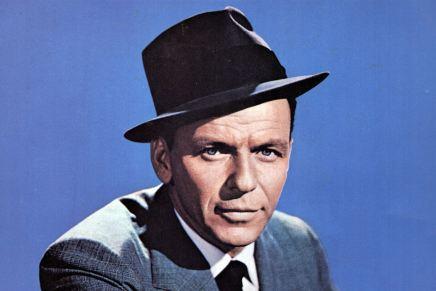 Kip med flaget til to af de store: Frank Sinatra ogGammelfar