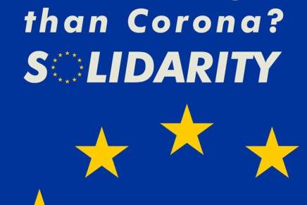 Corona-krisen skriger på sammenhold ogsolidaritet