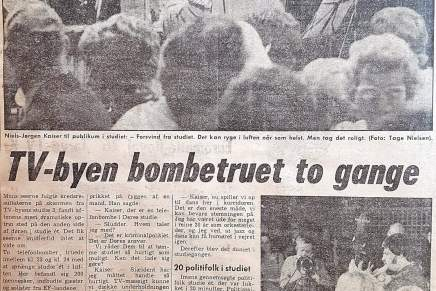 TV-Byen bombetruet togange