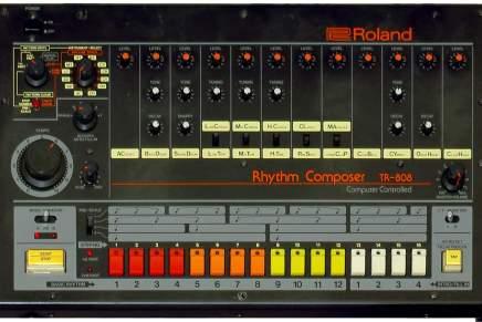 TR-808 var en såkaldt 'RhythmComposer'