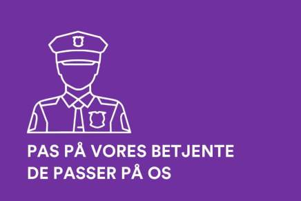 PAS PÅ VORES BETJENTE – DE PASSER PÅ OS❗️