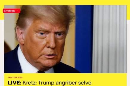 Danske medier (selv TV2!) træder ENDELIG ud af deres tilstræbte neutralitet og sigersandheden
