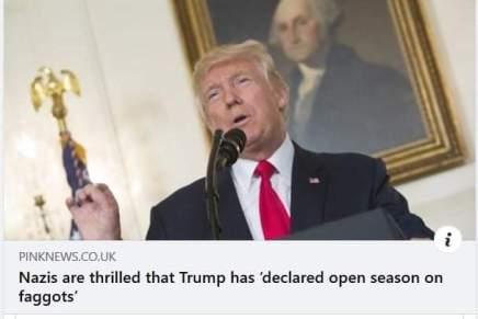 Tak for lort,Trump