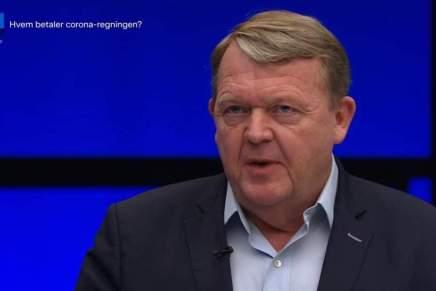 I går stod Lars Løkke igen på TV og klogedesig