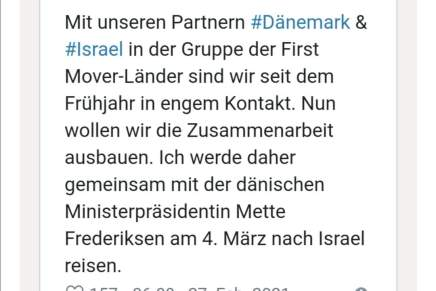 Hvad skal Mette Frederiksen iIsrael?