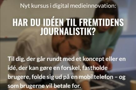 FREMTIDENS JOURNALISTIK